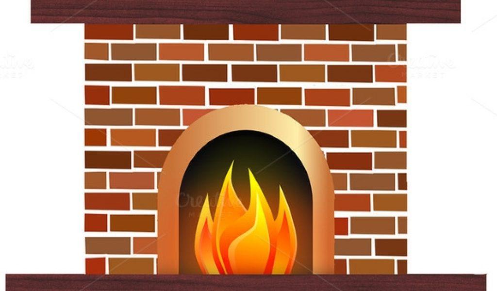 Design clipartix. Fireplace clipart