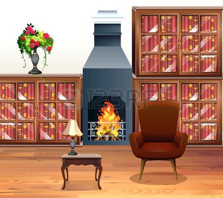 Fireplace clipart. Fire place clip art