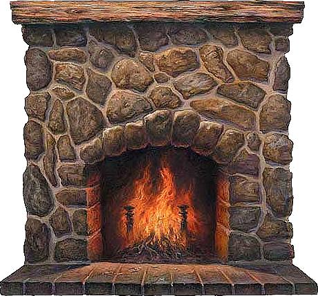 Fireplace clipart. Clipartix