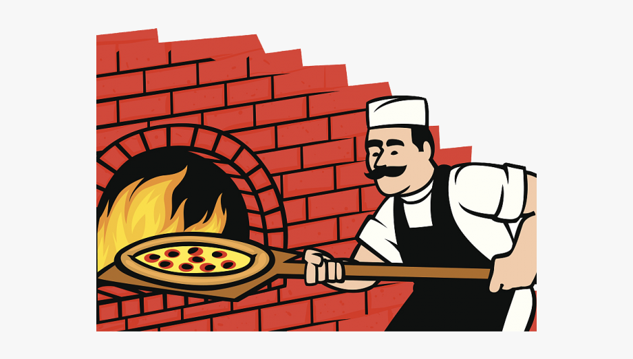 Pizza free . Fireplace clipart brick oven