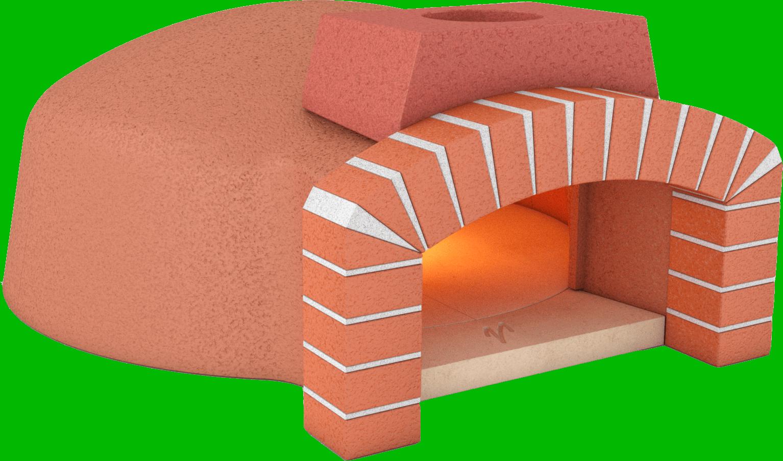 Pizza kits mugnaini wood. Fireplace clipart brick oven