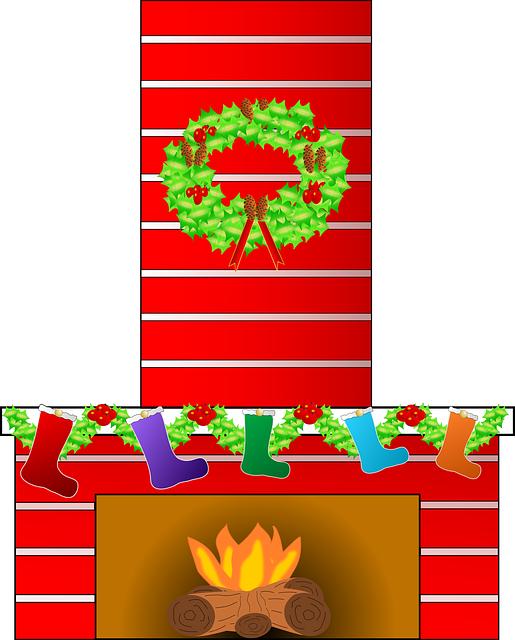 Free image on pixabay. Fireplace clipart chimney