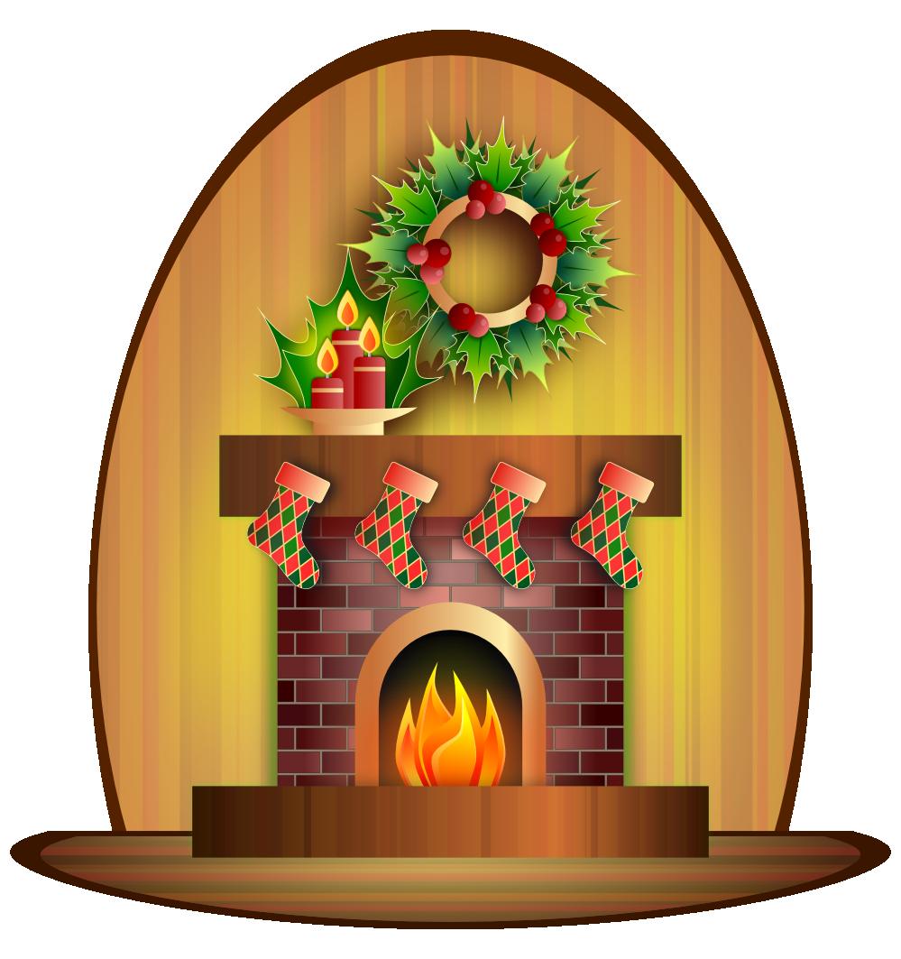 Clipartist net clip art. Fireplace clipart chimney