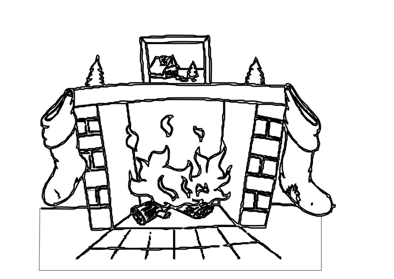 fireplace clipart fireplace mantel