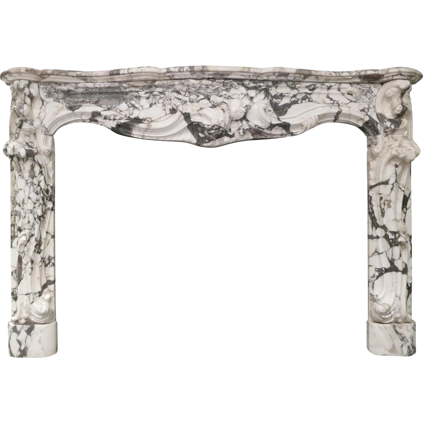 Fireplace clipart fireplace mantle. A large rococo french