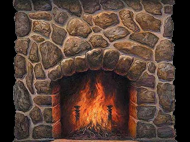 Fireplace clipart fireplace scene.  huge freebie download