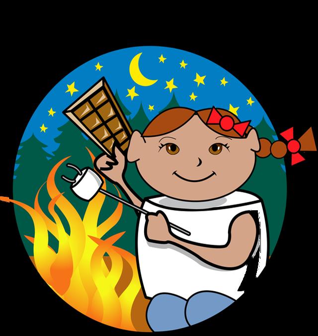 Fireside Smores Clipart