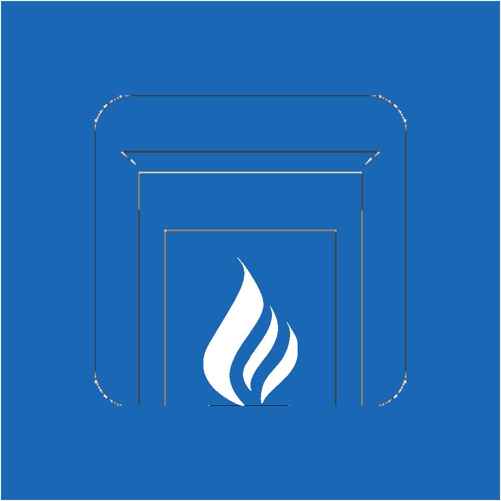 Fireplace clipart gas fireplace. Hr plumbing heating fire