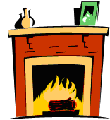 Fireplace clipart gas fireplace. Is it love or