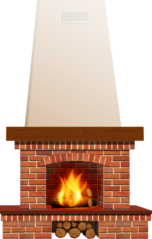Fireplace clipart in house.  delightful miniature smalls