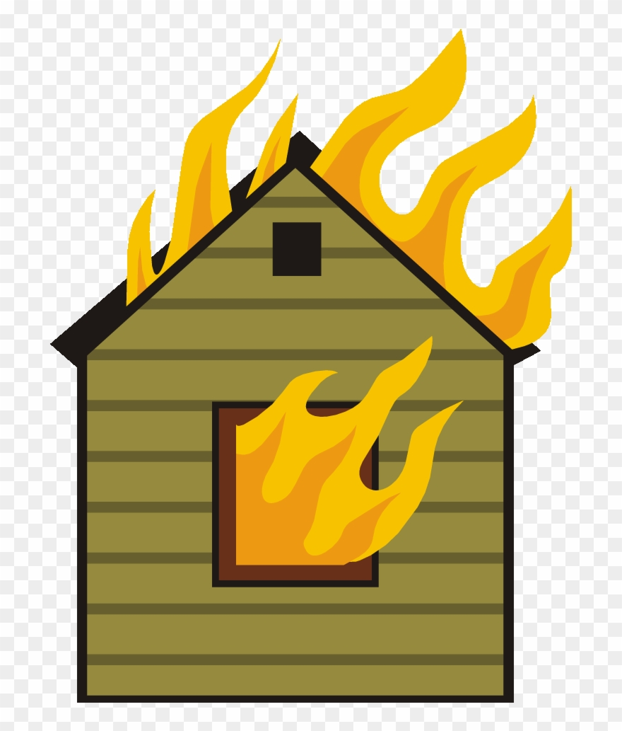 Fireplace clipart in house. Fire clip art png