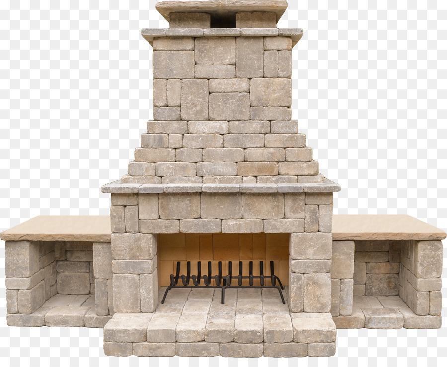 Fireplace clipart outdoor fireplace. Building cartoon wall transparent