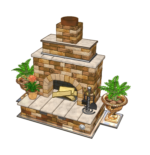 Collect flowers this may. Fireplace clipart outdoor fireplace