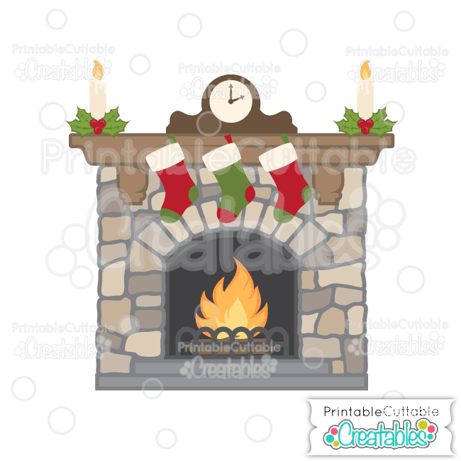 Christmas x making the. Fireplace clipart printable