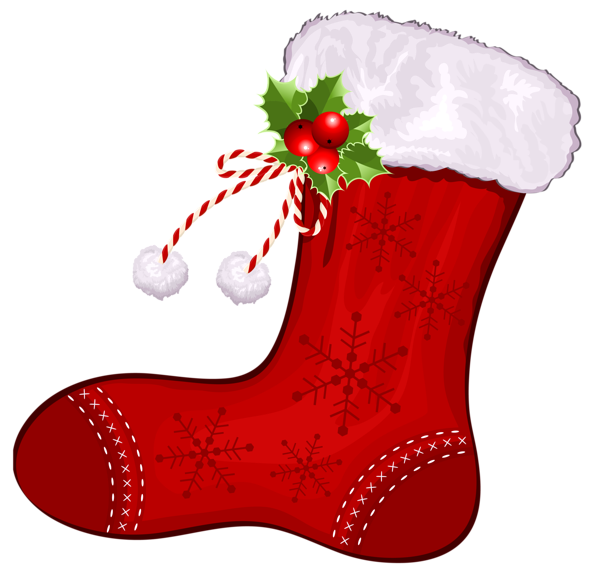 Fireplace clipart stocking clipart. Large transparent christmas red
