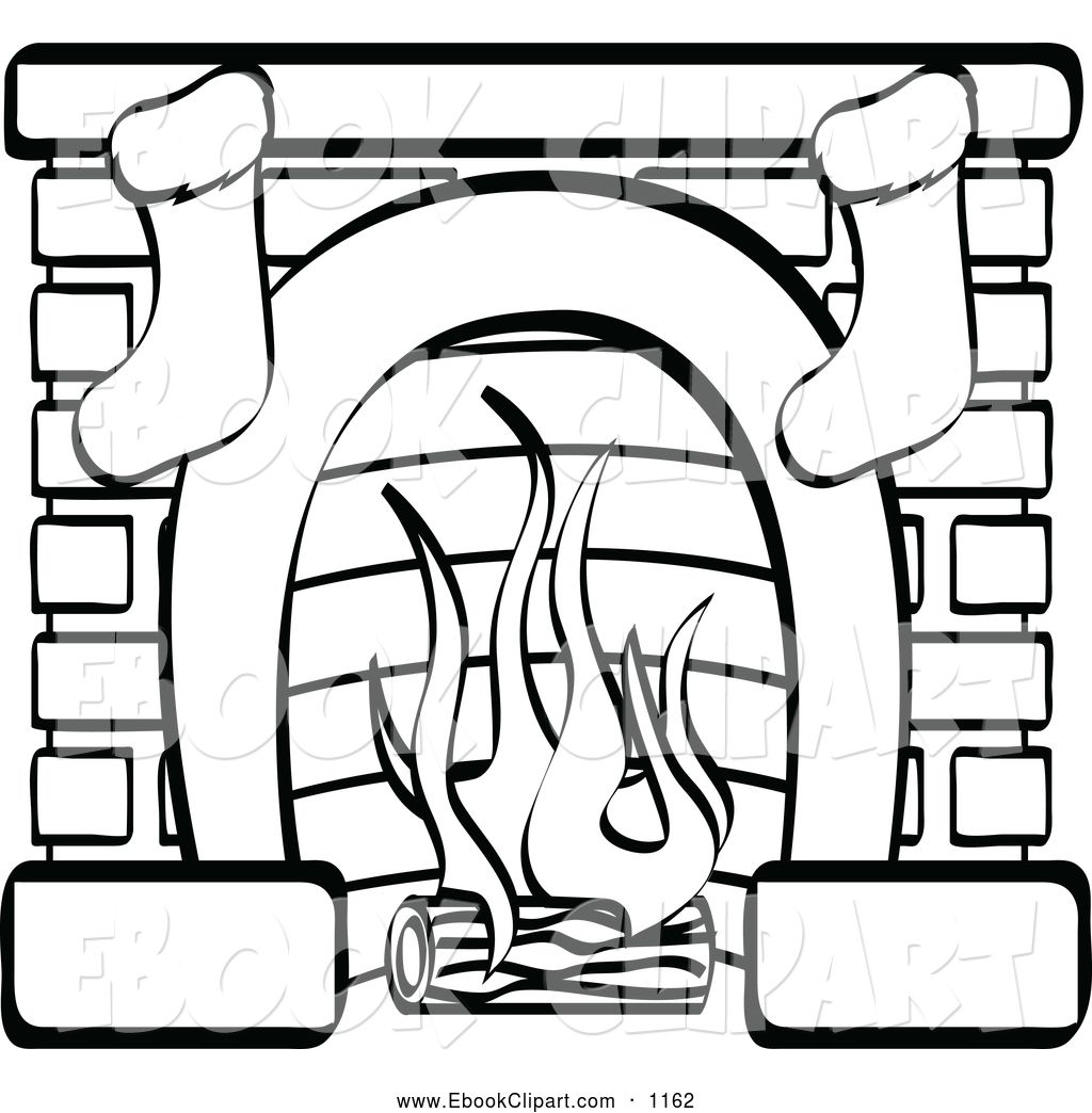 Free download best on. Fireplace clipart stocking drawing