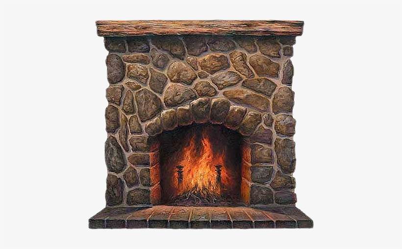 Banner library stock hearth. Fireplace clipart stone fireplace