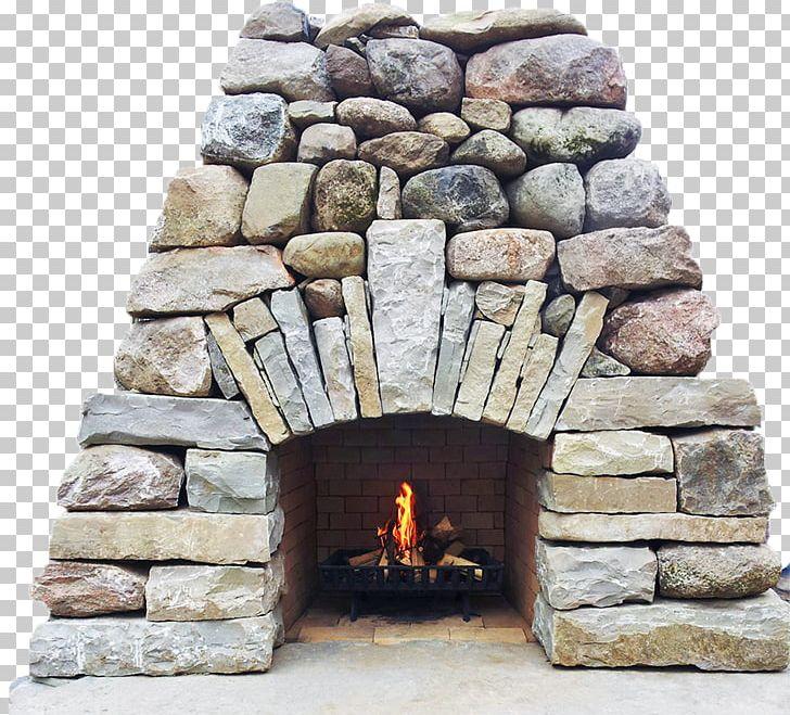 Wall rock hardscape png. Fireplace clipart stone fireplace