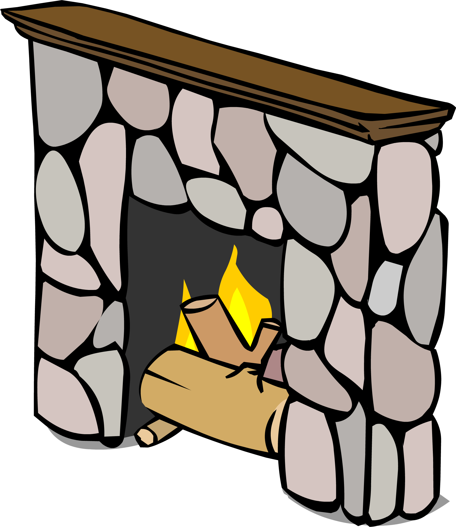Image sprite png club. Fireplace clipart transparent