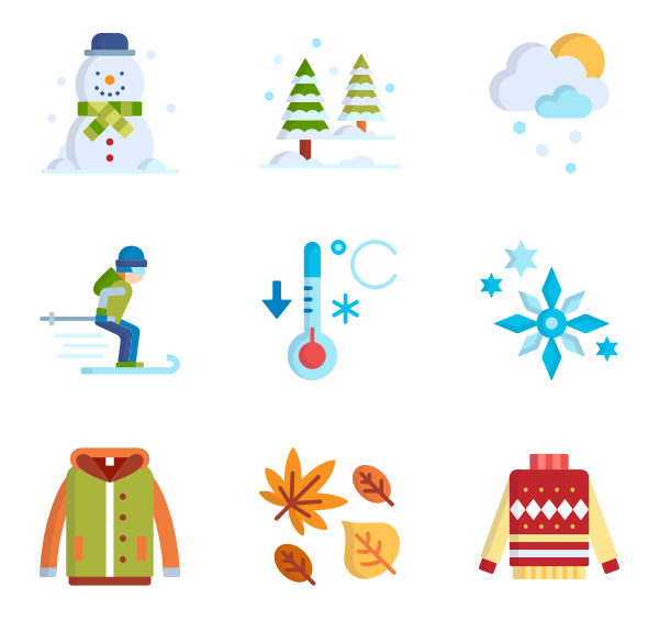 Icons free page winter. Fireplace clipart vector