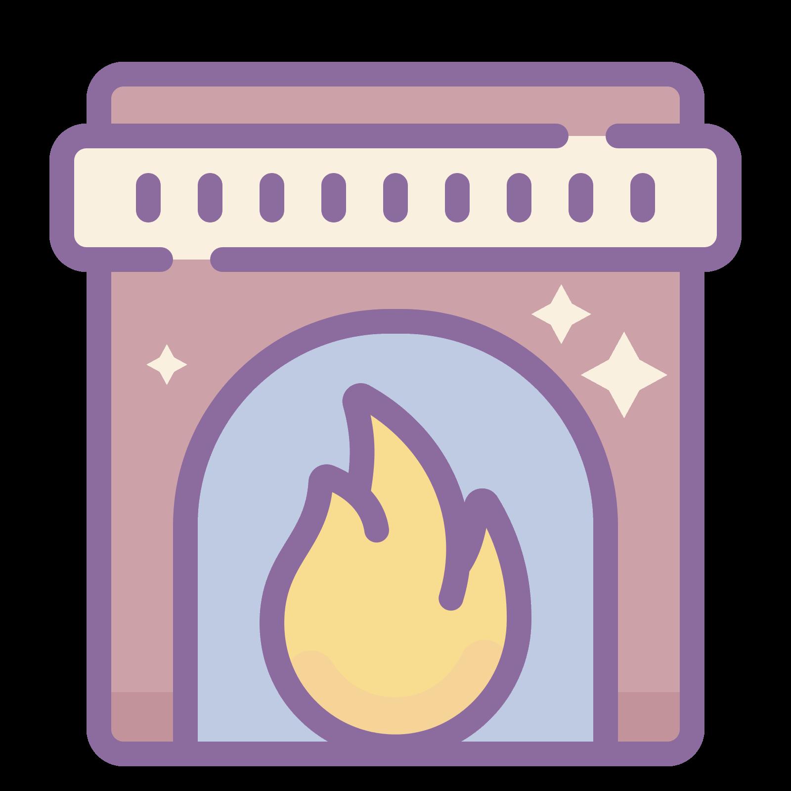 Cones download gratuito em. Fireplace clipart warm fire