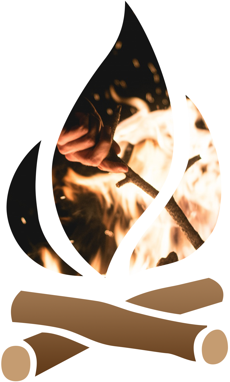 Campfire tricks tradewinds rv. Fireplace clipart warm fire