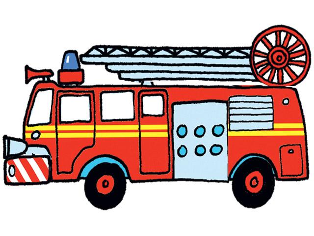 Cartoon fire truck cliparting. Firetruck clipart animated