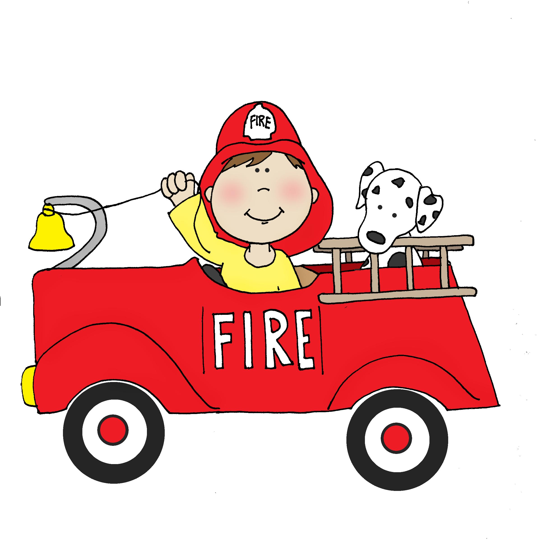 Firetruck clipart baby. Boy dearie dolls digi