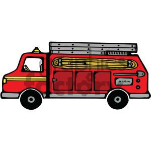 Fire truck royalty free. Firetruck clipart cartoon