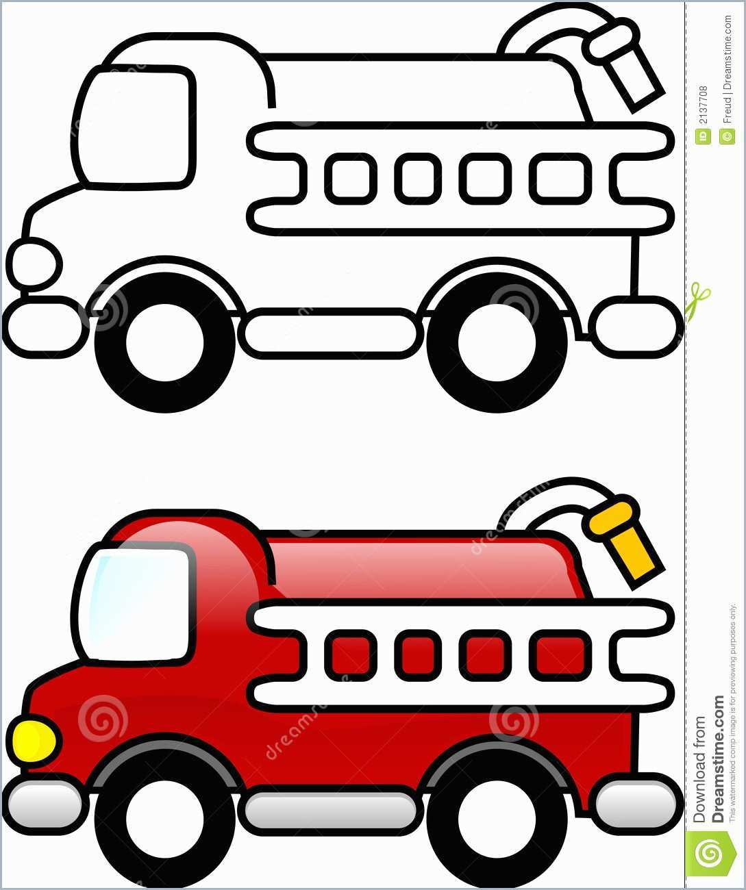 Firetruck Clipart Draw Firetruck Draw Transparent Free For Download On Webstockreview 2021