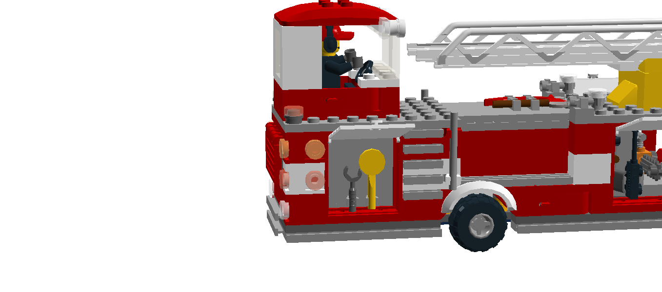 Ladder clipart fire truck. Lego department cargo transprent