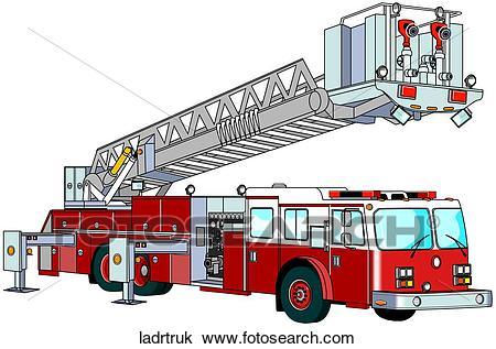 Firetruck clipart ladder. Fire truck portal