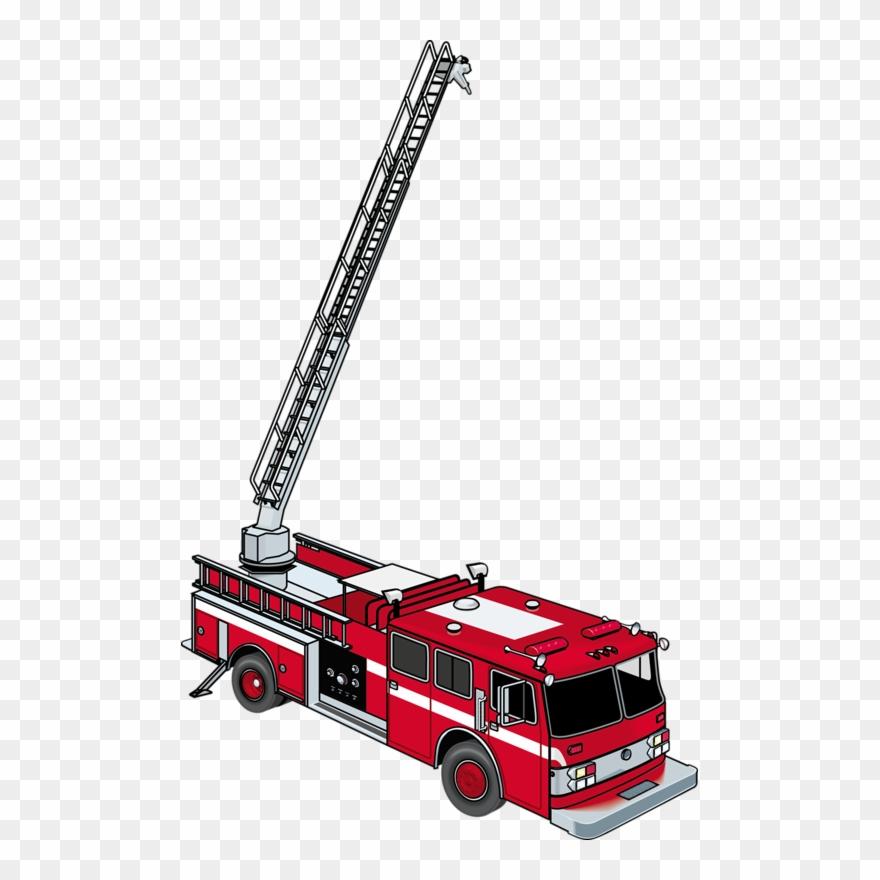 Fire clip art cartoon. Firetruck clipart ladder