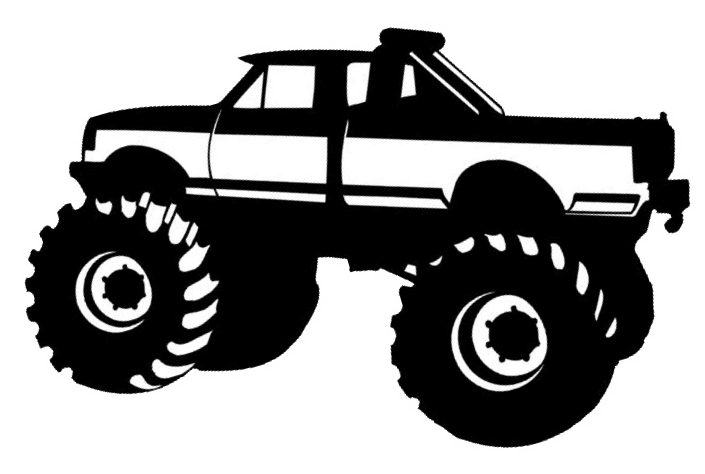 Race clipart monster truck tire.  cut png pixel