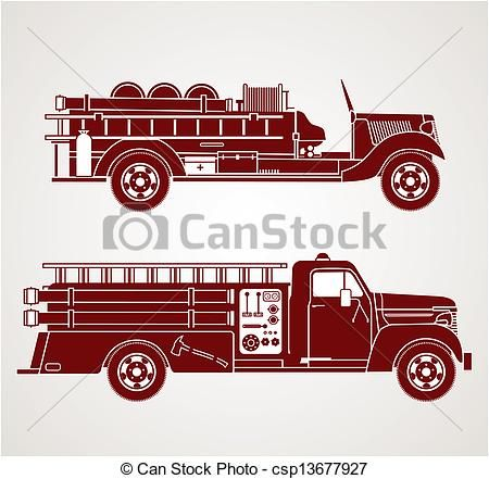 Firetruck clipart old. Image result for fashioned