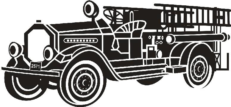 Firetruck clipart old. Fire truck clip art