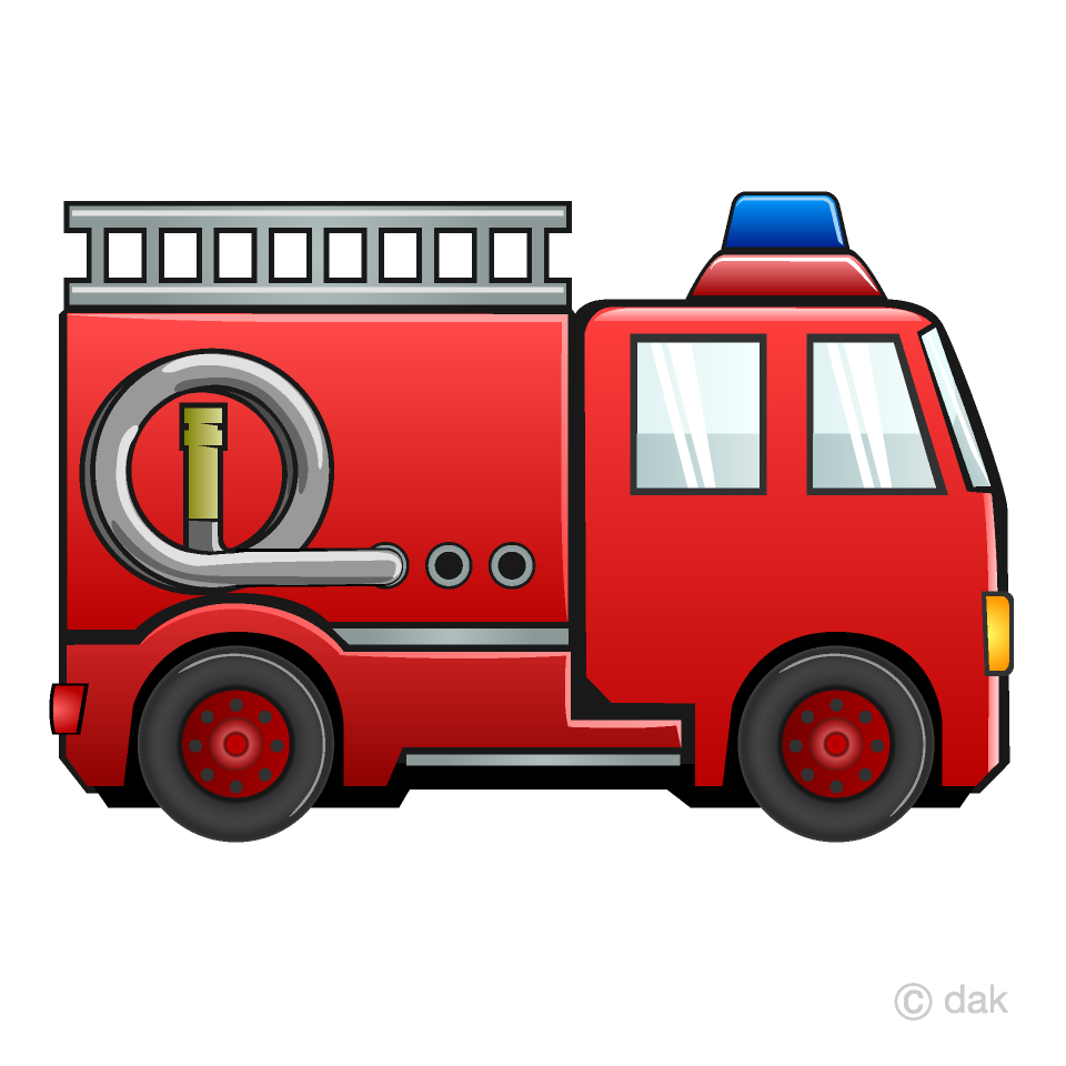 Fire truck to free. Firetruck clipart printable