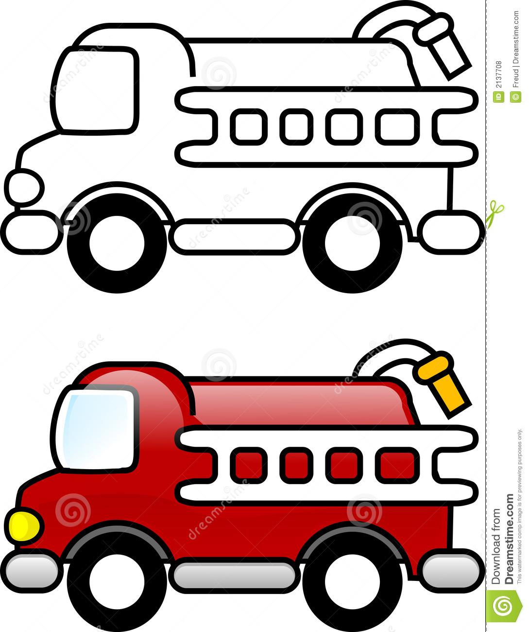 Free fire truck download. Firetruck clipart simple