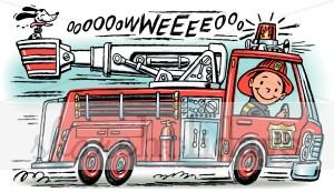 Fire truck portal . Firetruck clipart siren