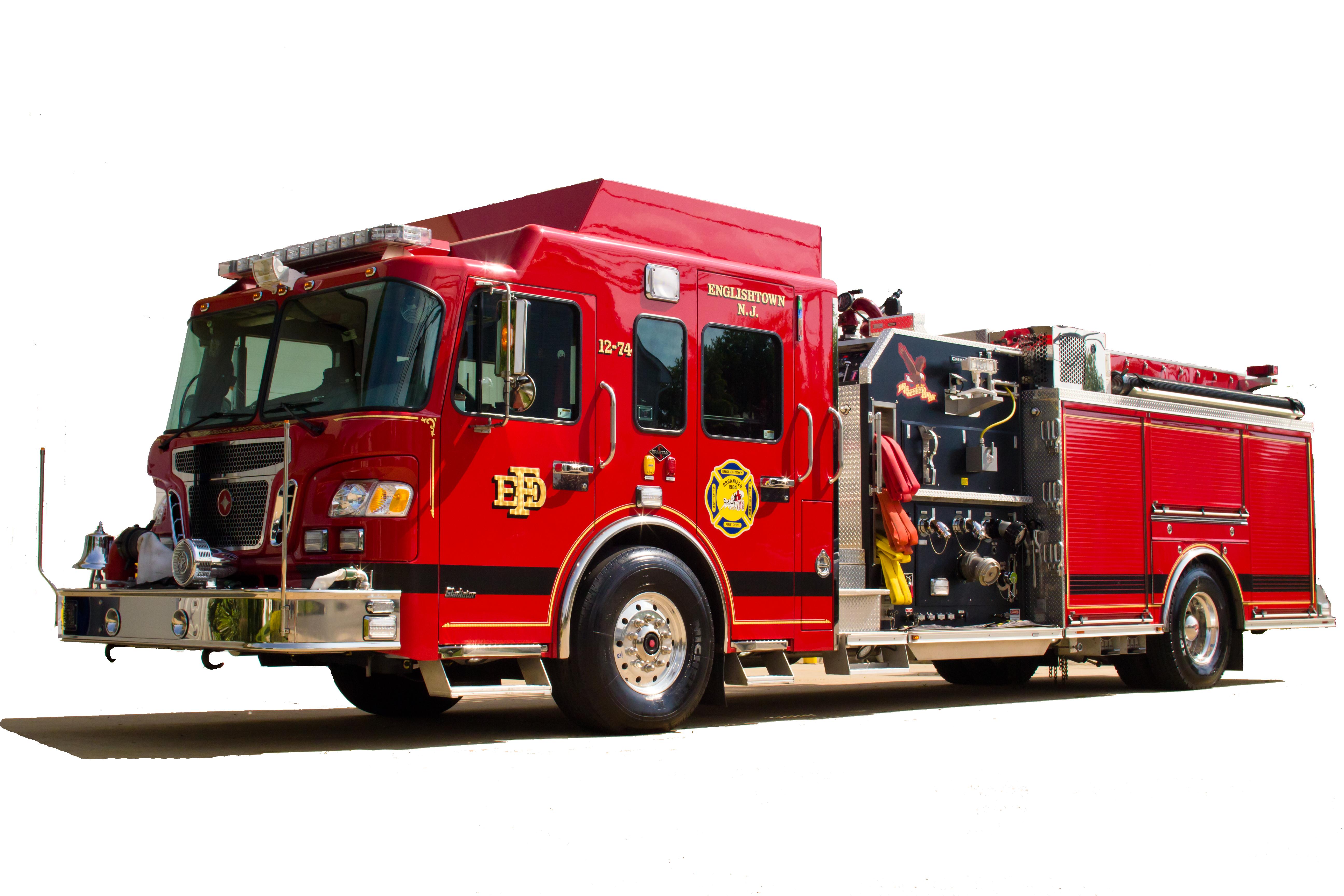 Truck png images free. Firetruck clipart van fire