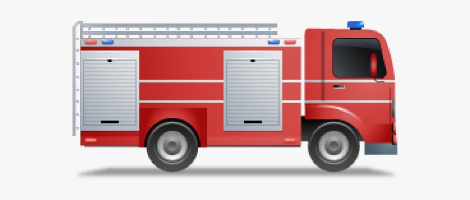 Firetruck clipart van fire. Truck emoji icon png