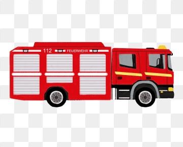 Fire truck png psd. Firetruck clipart vector