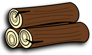 Firewood and logs . Log clipart