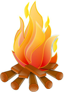 Firewood clipart. The kettle fire peregrinereads