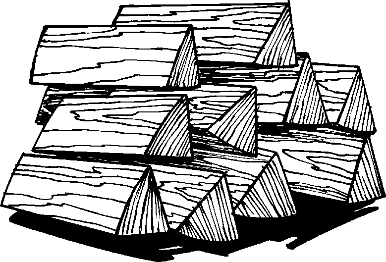 Black and white lil. Firewood clipart