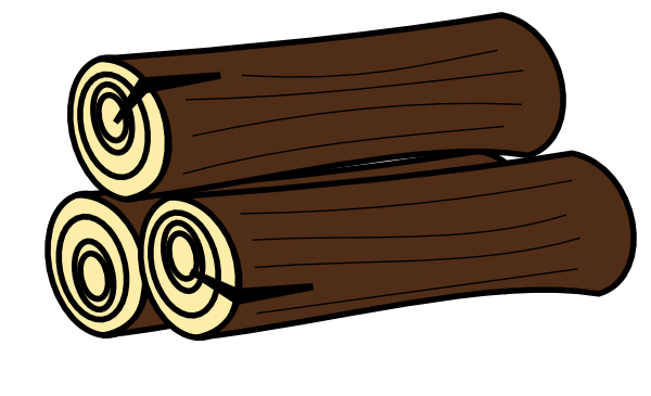 Logs clipart timber. Free wood pile cliparts