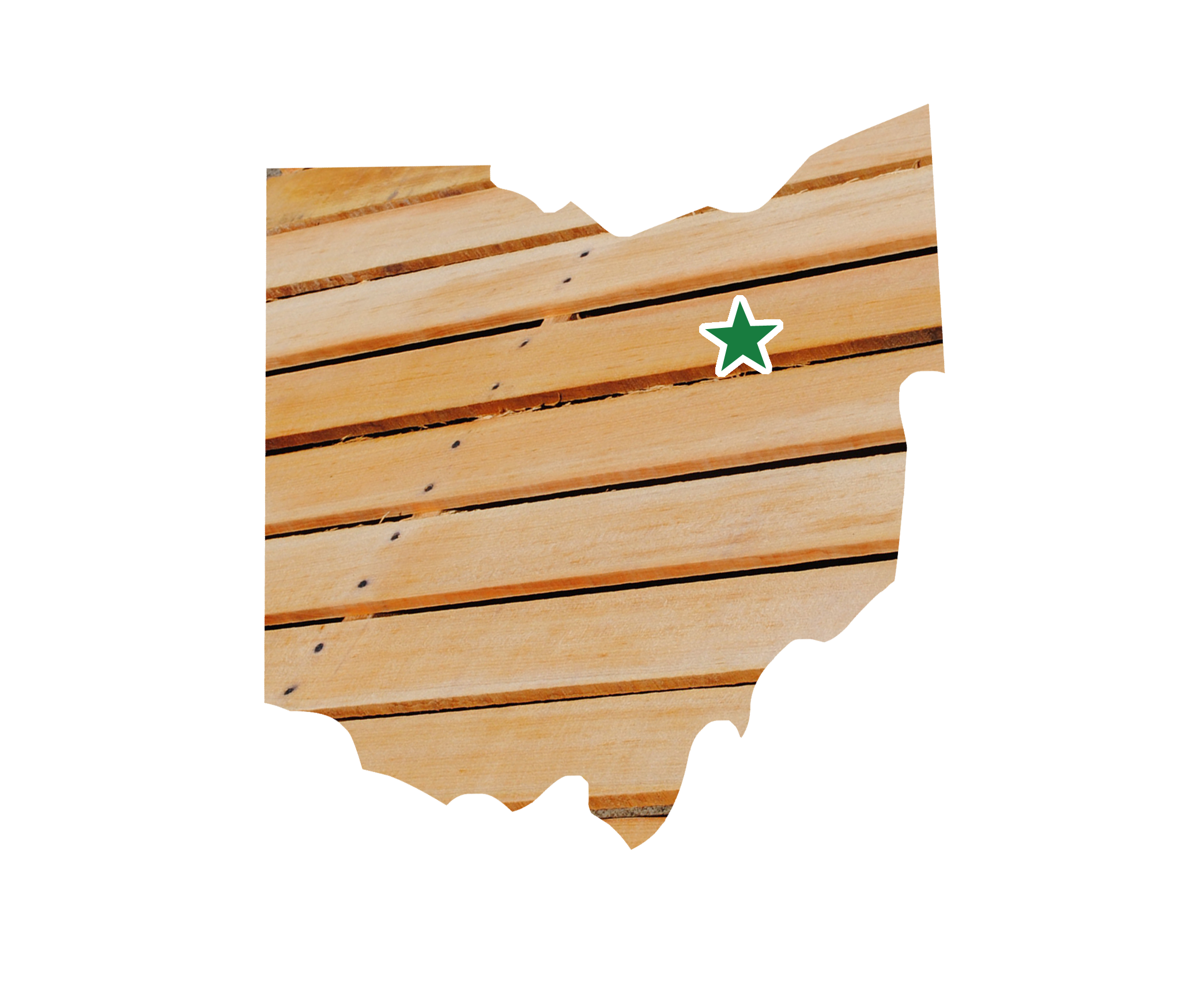 Wooden pallets packaging company. Firewood clipart block wood