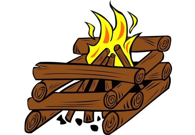 How to start a. Firewood clipart chimney fire