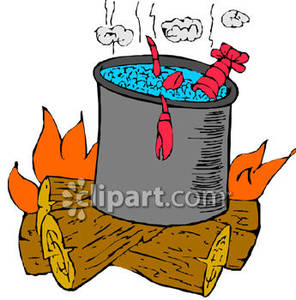 Cartoon fire with wood. Firewood clipart cooking