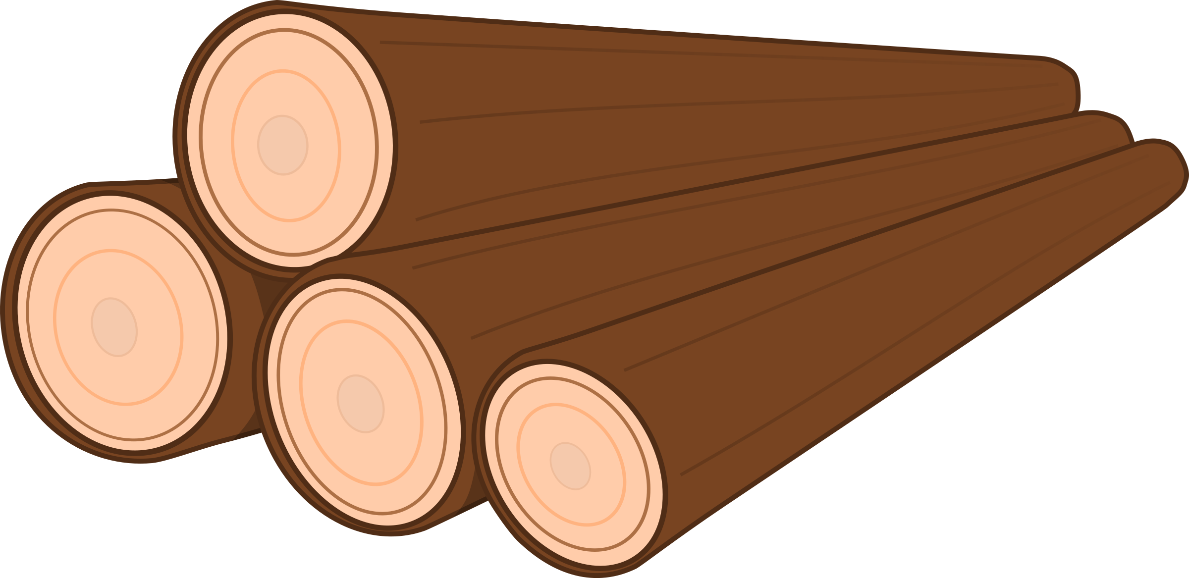 Firewood single wood log